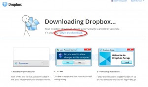 Использование DropBox от Зои Вулвич, скачка ДропБокса автоматом
